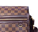 Мужская сумка из кожзаменителя LV300206 коричневый, фото 5