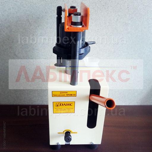 Пресс ручной полуавтоматический ПРОМ-1У, Украина
