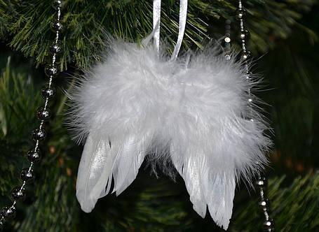 Новогодние украшения Крылья пух  0258, фото 2