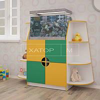 Детская стенка для игрушек «Аква»