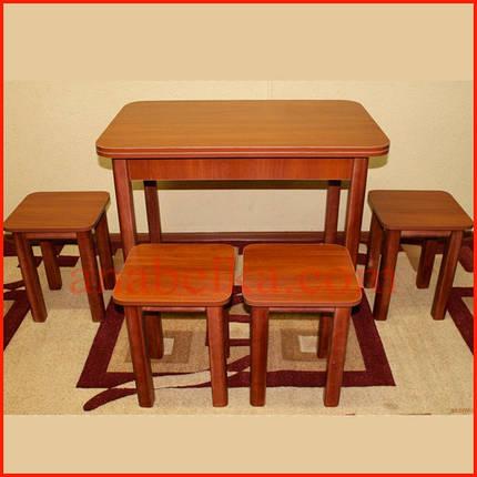 Комплект стол+  4 табуретки, фото 2