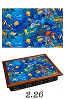 Поднос с подушкой Глубины океана