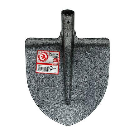 Лопата штыковая универсальная 0,8 кг INTERTOOL FT-2003, фото 2