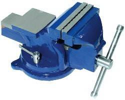 Тиски слесарные поворотные Technics (42-831) 7.5кг, 125мм (шт.)