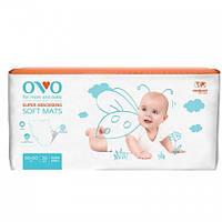 OVO пеленки одноразовые для новорожденных 60x60 см., 30 шт.