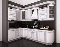 Кухня на заказ BLUM-034 краска по RAL каталогу