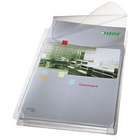 Файлы матовые для каталогов A4 Leitz, c клапаном 170 мик., 5 шт.