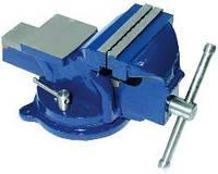 Тиски слесарные поворотные Technics (42-840) 6кг, 100мм, черные (шт.)