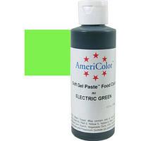 Краситель гелевый AmeriColor (Америколор) Электрический зеленый 128 г