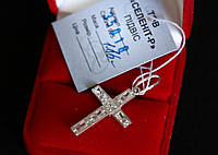 серебряный крест 925 пробы