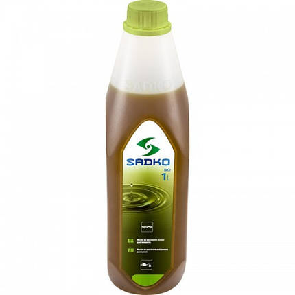 Масло для смазки цепи  SADKO bio (бензо- эл.пилы) (1л) (8015380), фото 2