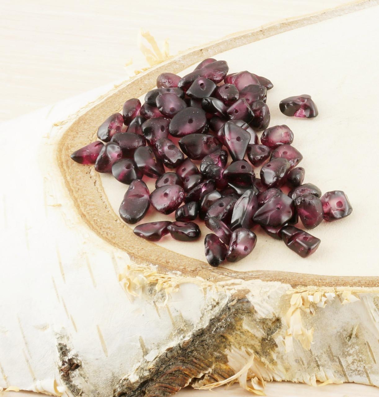 Бусины из натурального камня крошка 26 (10грамм) - магазин-студия Цацки в Чернигове