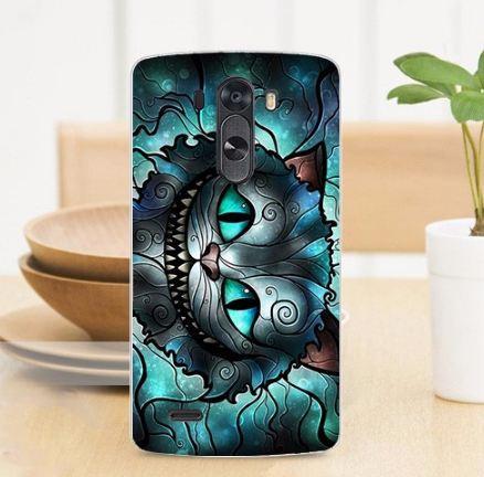 Эксклюзивный чехол для LG G3 Optimus D855 D857 с рисунком Чеширский кот