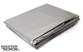Тент   4 х 6 м, серебро, 140г/м2 Mastertool (79-7406)
