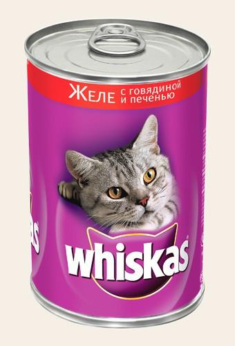 Вискас - для взрослых кошек в банках