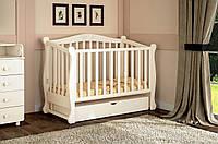 Детская кроватка Prestige 8 с пеленальным комодом VIP