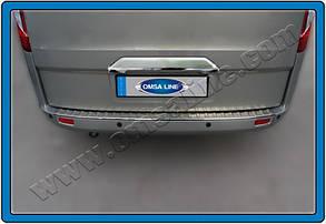 Хром накладка над номером (без камеры) Ford Tourneo Custom