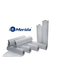 Простыни бумажные медицинские в рулоне Merida простирадла паперові медичні