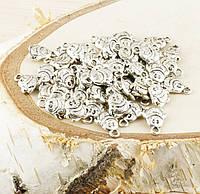 Подвеска Пингвинчик серебро 14мм (товар при заказе от 200 грн)
