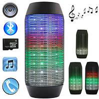 Портативная колонка с подсветкой JBL PULSE-3 Bluetooth (черная, белая), динамик музыкальная колонка