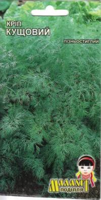 Семена укроп Кустовой 10г Зеленый (Малахiт Подiлля)
