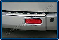 Окантовка задних рефлекторов Ford Tourneo Custom (2 шт.)