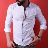 Рубашка мужская с длинным рукавом Rubaska