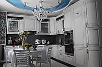 Кухня на заказ BLUM-037 краска по RAL каталогу