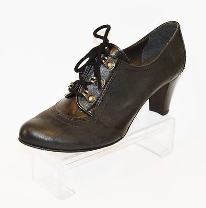 Женские туфли на шнурке Marco 37 размер, фото 2