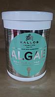 Маска Kallos Algae увлажняющая для поврежденных сухих волос, 1 л, фото 1