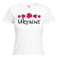 """Футболка """"Ukraine (Україна і маки)"""""""