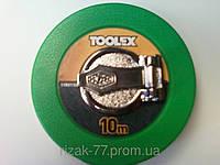 Рулетка ( стекловолокно) 10 м.TOOLEX