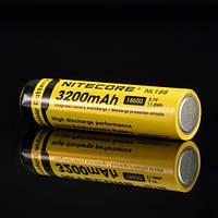 Аккумулятор литиевый Li-Ion 18650 Nitecore NL188 3.7V (3200mAh), защищенный, фото 1