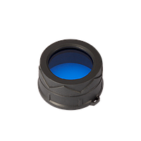 Диффузор фильтр для фонарей Nitecore NFB34 (34mm), синий, фото 1