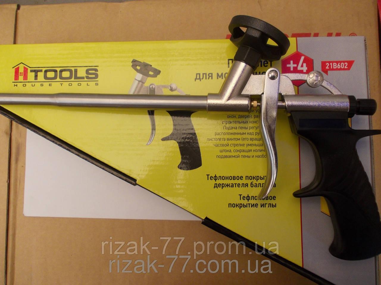 Пистолет для монтажной пены HTools 21В602