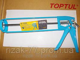 Пистолет TOOLEX для силиконового герметика. Усиленный.