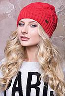 Теплая женская шапка в 10ти цветах AC Глория
