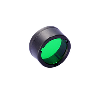 Диффузор фильтр для фонарей Nitecore NFG23 (22-23mm), зеленый, фото 1