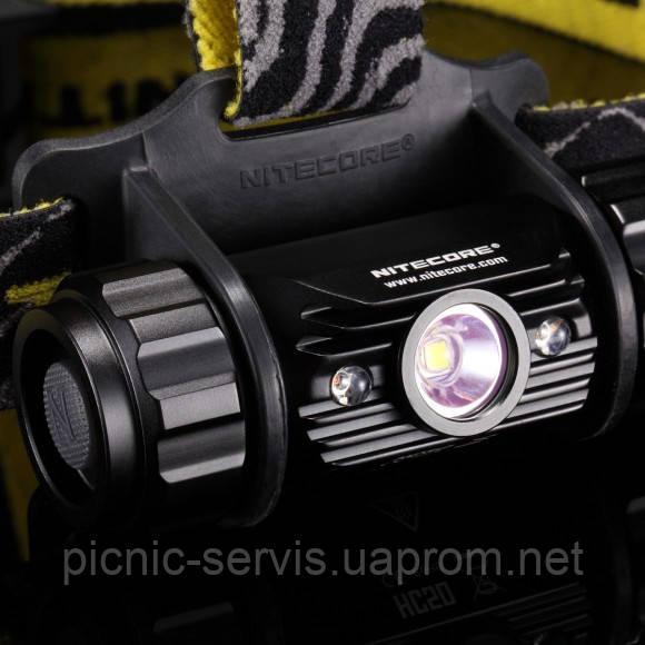 Фонарь налобный Nitecore HC50 (Cree XM-L2, 565 люмен, 10 режимов, 1x18650)