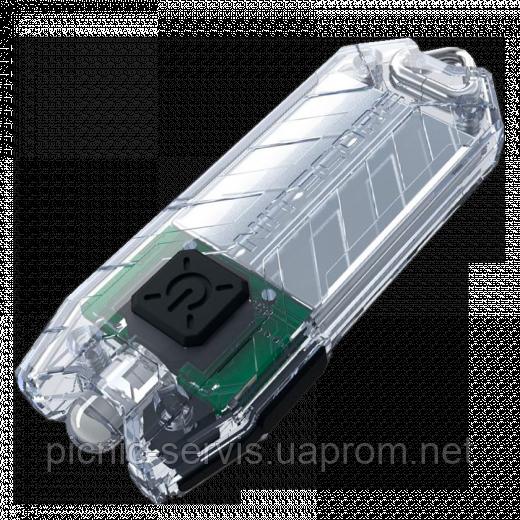 Фонарь Nitecore TUBE (Cree XP-G R5, 45 люмен, 2 режима, USB), прозрачный