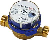 Одноструйный счетчик воды JS-1,5 Dn15 ХВ