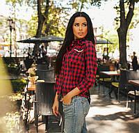 Женская стильная рубашка ЮС069, фото 1