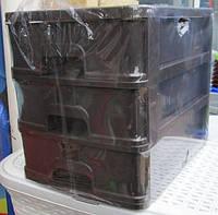 Комод пластиковый для канцтоваров А-4 3 секции