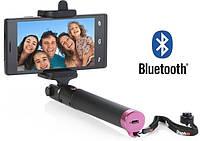 Монопод для селфи Locust bluetooth (цвета в ассортименте), палка селфи, штатив для смартфона