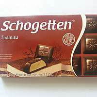 Шоколад Черный Schogetten Tiramisu Шогеттен 100г.