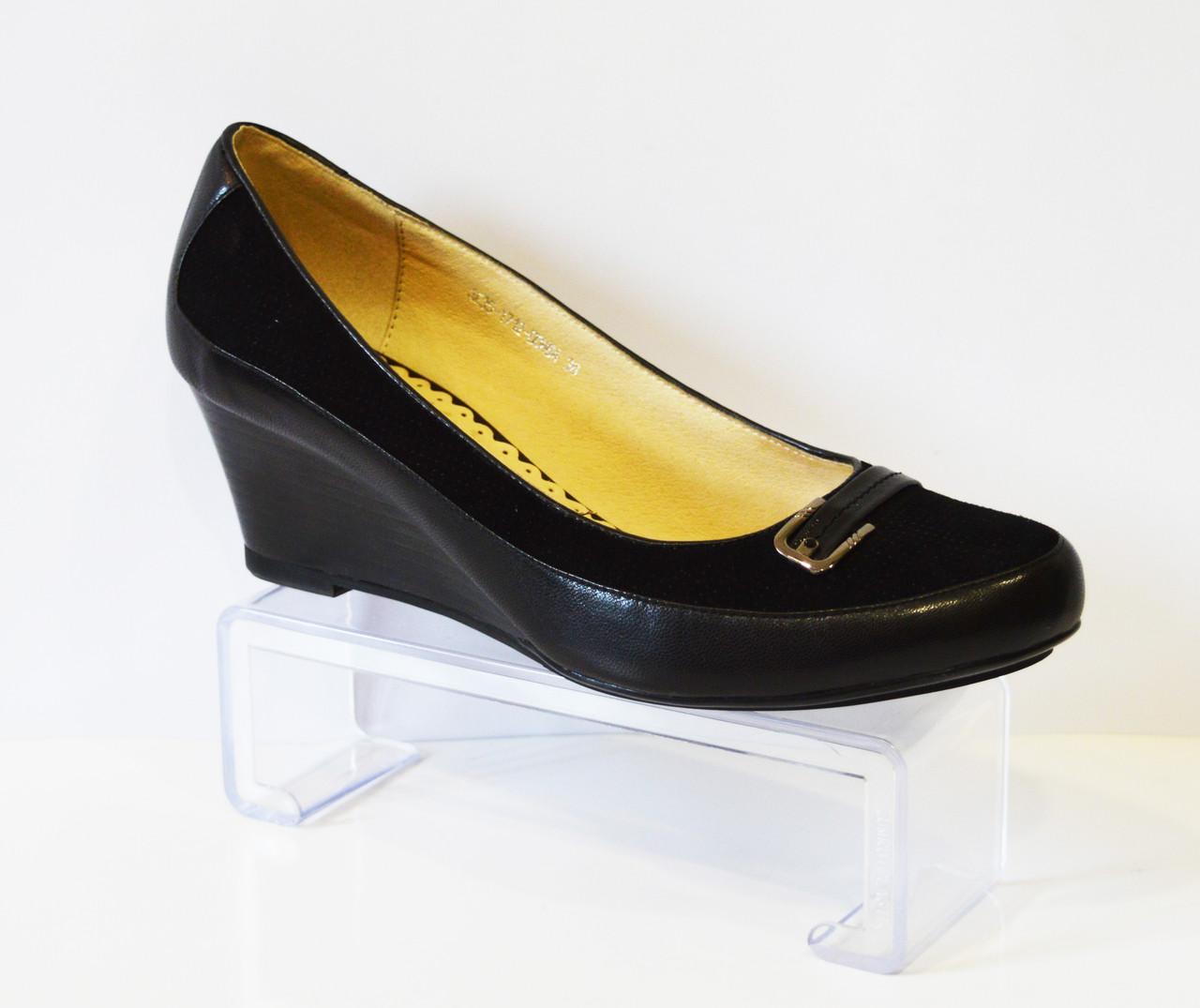 Женские туфли на танкетке Belletta