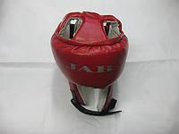 Шлем для восточных единоборств JAB (кож зам)
