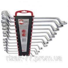 Набор ключей накидных 12 ед., 6-32 мм Cr-V INTERTOOL HT-1103