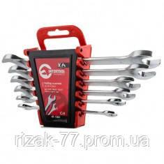Набор рожковых ключей 6 шт., 6-17 мм Cr-V INTERTOOL HT-1001