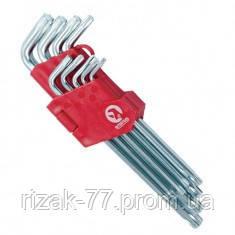 Набор Г-образных ключей TORX 9 шт, Т10-Т50, Cr-V, Big INTERTOOL HT-0608